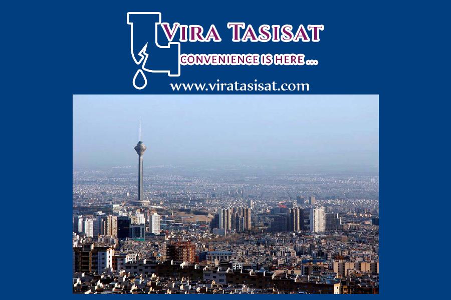 تشخیص ترکیدگی لوله در غرب تهران