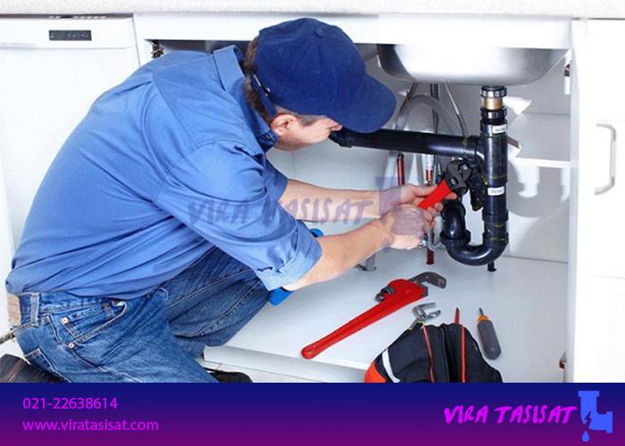 تعمیر انواع لوله های آب